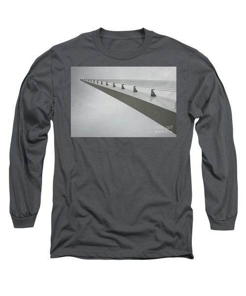 Sundial Perspective Long Sleeve T-Shirt by Carol Lynn Coronios