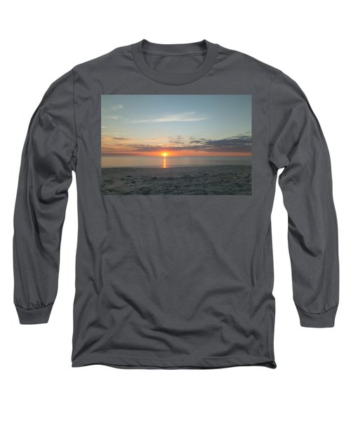 Sundown Long Sleeve T-Shirt by Christopher L Thomley