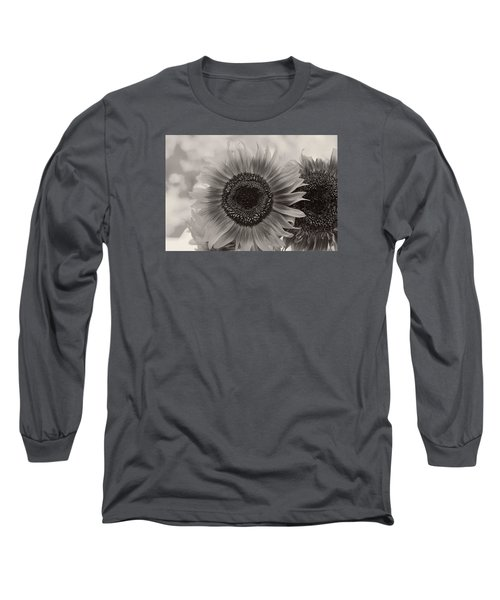Sunflower 6 Long Sleeve T-Shirt by Simone Ochrym