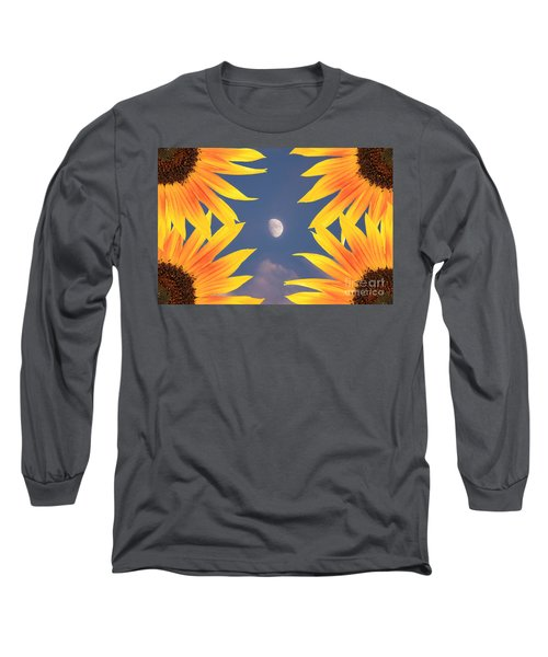 Sunflower Moon Long Sleeve T-Shirt