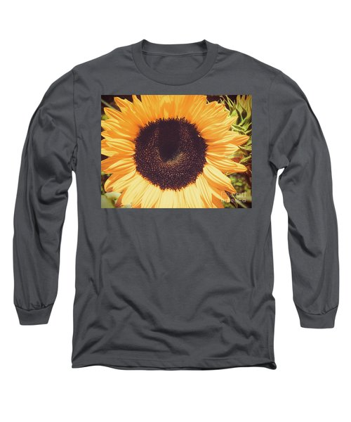 Sunflower Long Sleeve T-Shirt by Scott and Dixie Wiley
