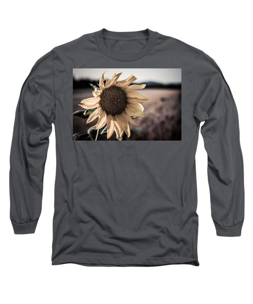 Sunflower Solitude Long Sleeve T-Shirt