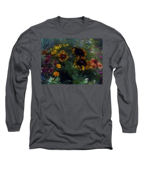 Sunflower Streaks Long Sleeve T-Shirt