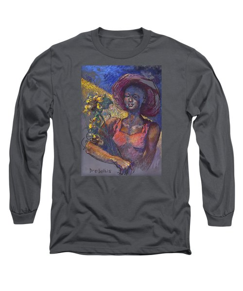 Sunflower Woman Long Sleeve T-Shirt