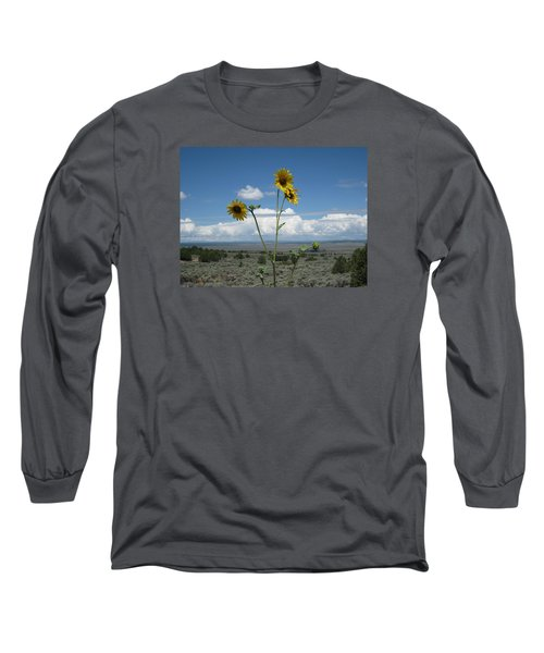 Sunflowers On The Gorge Long Sleeve T-Shirt