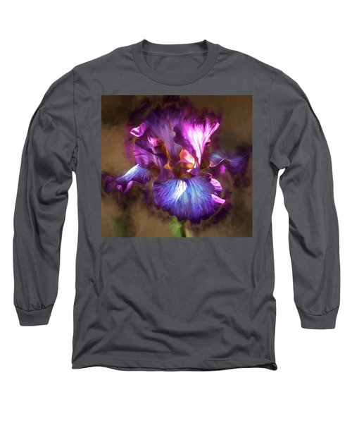 Sunlight Dancing On Iris Long Sleeve T-Shirt