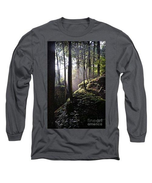 Sunlight Through Trees At Beartown State Park 3129c Long Sleeve T-Shirt