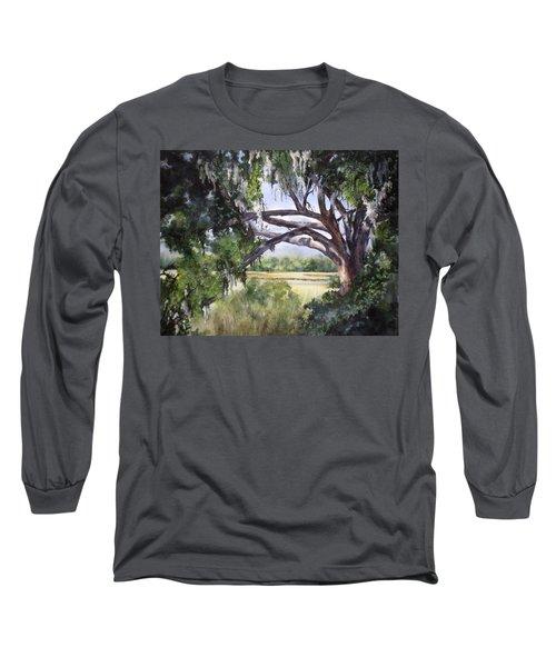 Sunlit Marsh Long Sleeve T-Shirt