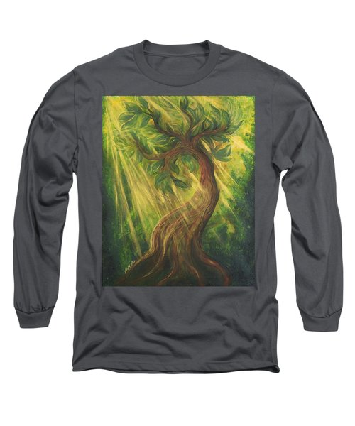 Sunlit Tree Long Sleeve T-Shirt