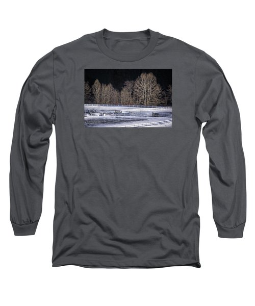 Sunlit Trees Long Sleeve T-Shirt