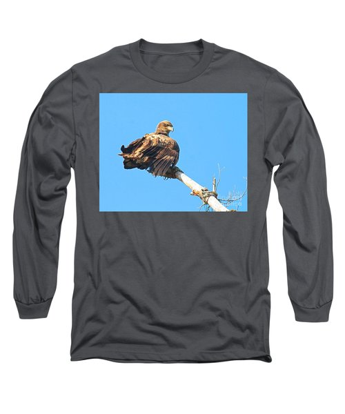 Long Sleeve T-Shirt featuring the photograph Sunning Out On A Limb by Debbie Stahre