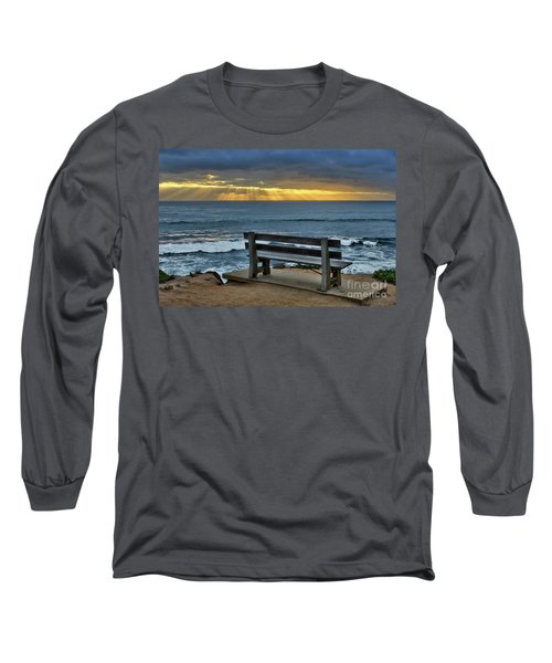 Sunrays On The Horizon Long Sleeve T-Shirt