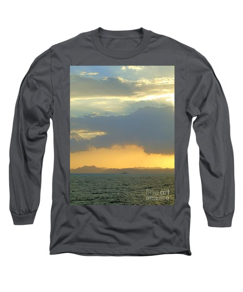 Sunrise After The Typhoon Long Sleeve T-Shirt