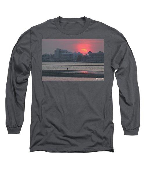 Sunrise And Skyline Long Sleeve T-Shirt
