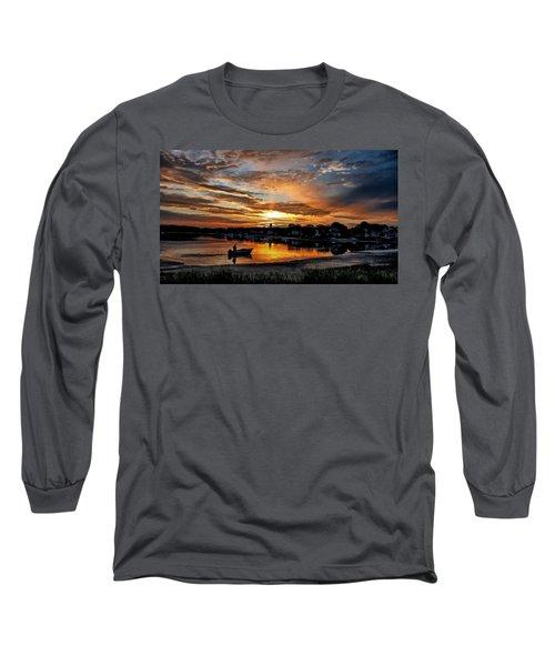Sunrise At Back Cove Long Sleeve T-Shirt