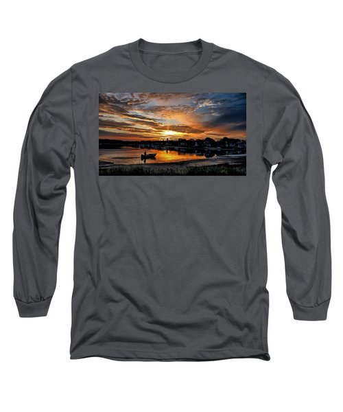 Sunrise At Back Cove Long Sleeve T-Shirt