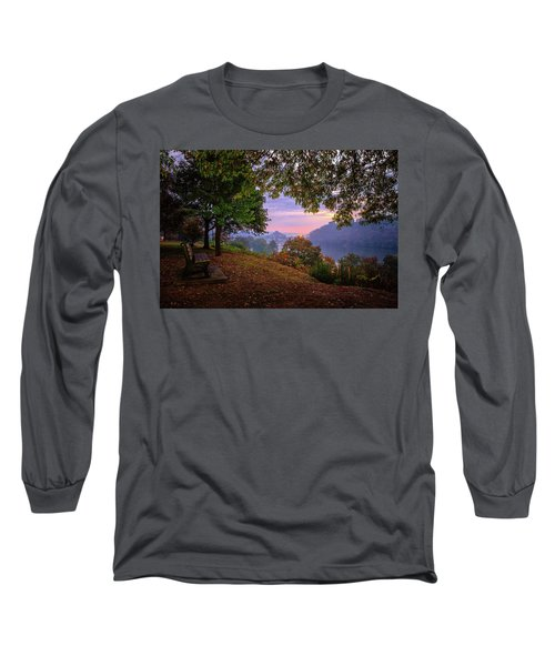Sunrise At River Rd  Long Sleeve T-Shirt
