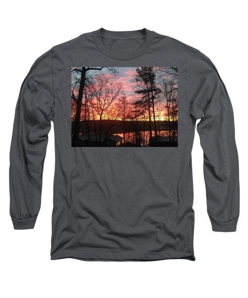 Sunrise At Carolina Trace Long Sleeve T-Shirt