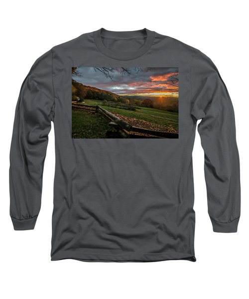 Sunrise At Cone House Long Sleeve T-Shirt