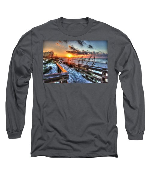 Sunrise At Cotton Bayou  Long Sleeve T-Shirt
