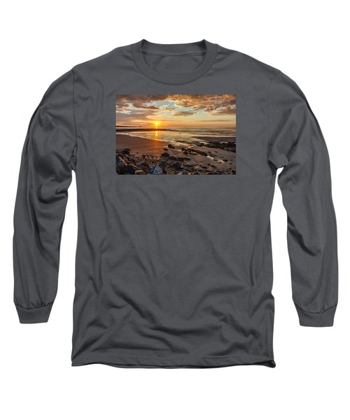 Sunrise At Long Sands Long Sleeve T-Shirt