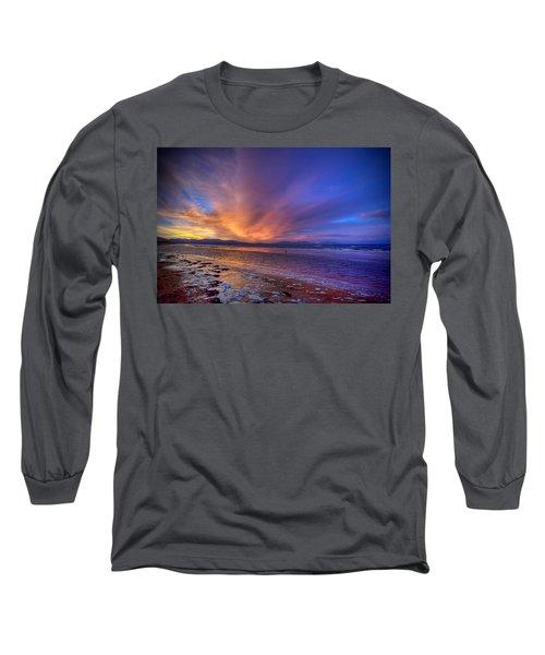 Sunrise At Newborough Long Sleeve T-Shirt