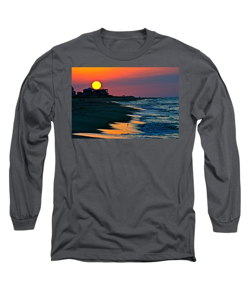 Sunrise At St. George Island Florida Long Sleeve T-Shirt