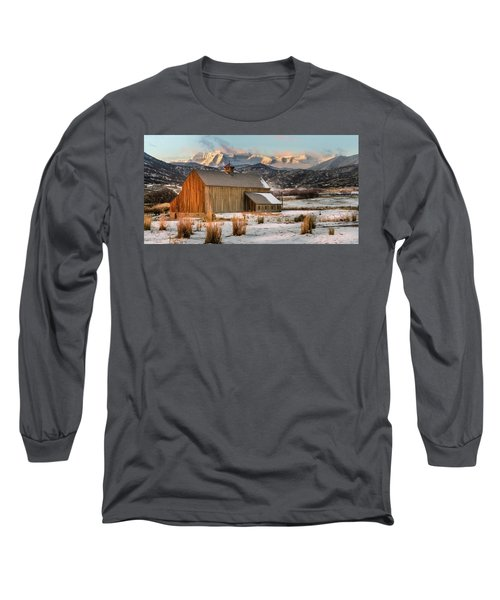 Sunrise At Tate Barn Long Sleeve T-Shirt