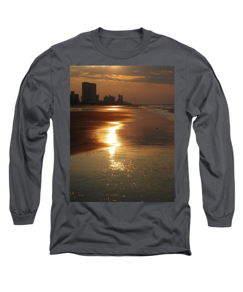 Sunrise At The Beach Long Sleeve T-Shirt