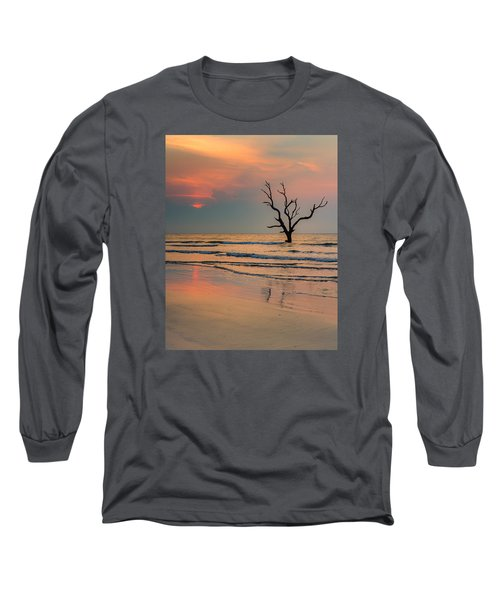 Long Sleeve T-Shirt featuring the photograph Sunrise At The Boneyard by Patricia Schaefer