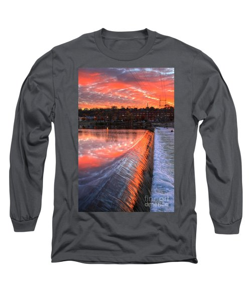 Sunrise At The Dam Long Sleeve T-Shirt