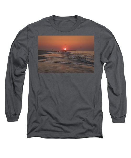 Sunrise In Cape May Long Sleeve T-Shirt