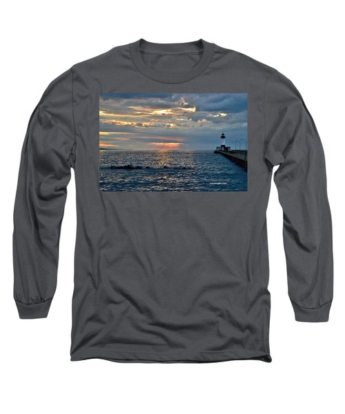 Sunrise In Duluth Long Sleeve T-Shirt