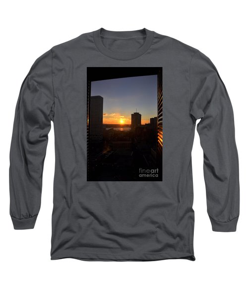 Sunrise In New Orleans Long Sleeve T-Shirt