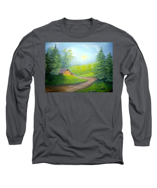 Sunrise In The Country Long Sleeve T-Shirt