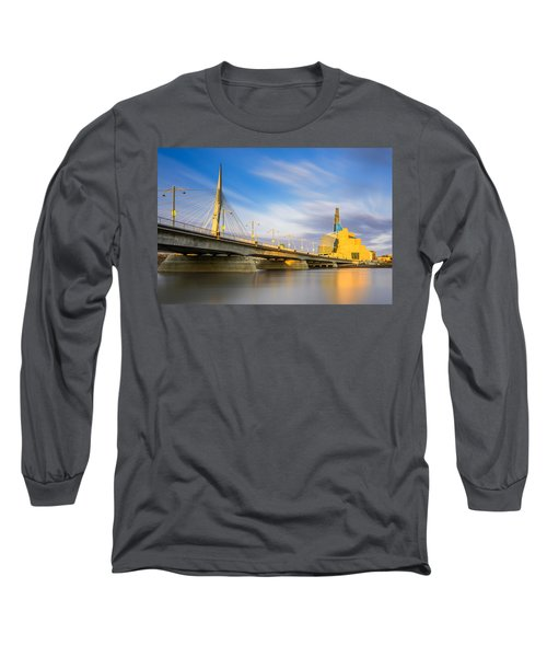 Sunrise In Winnipeg Long Sleeve T-Shirt