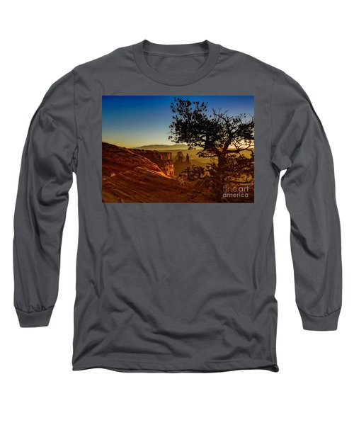 Sunrise Inspiration Long Sleeve T-Shirt by Kristal Kraft