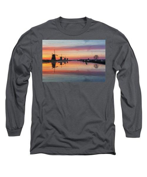 Sunrise Kinderdijk Long Sleeve T-Shirt