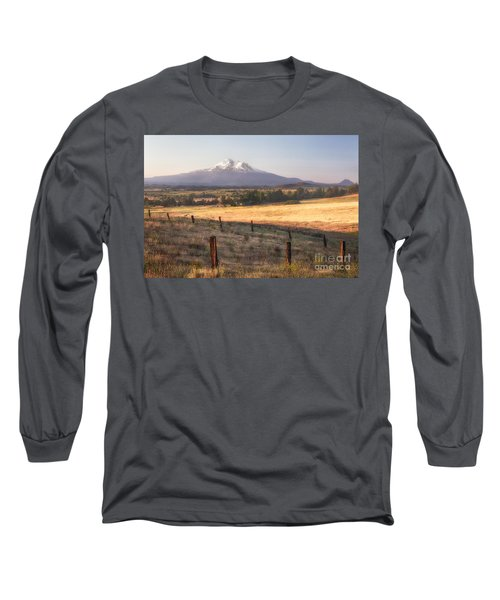 Sunrise Mount Shasta Long Sleeve T-Shirt