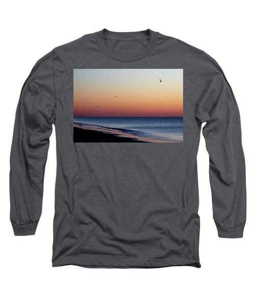 Sunrise On Hilton Head Long Sleeve T-Shirt by Bruce Patrick Smith