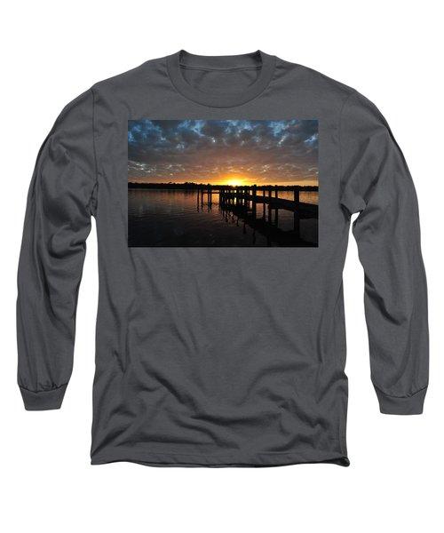 Sunrise On The Bayou Long Sleeve T-Shirt