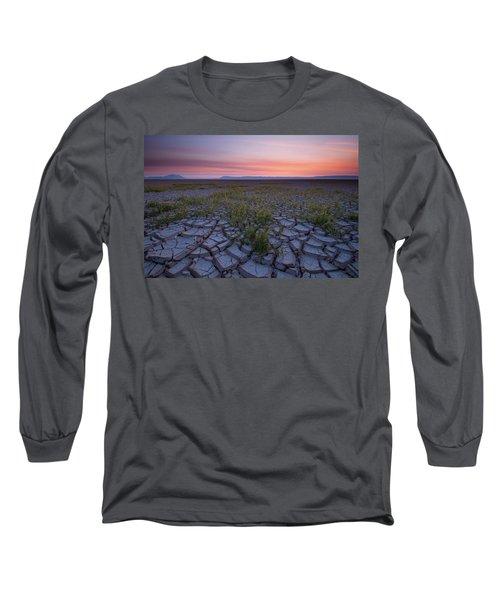 Sunrise On The Playa Long Sleeve T-Shirt