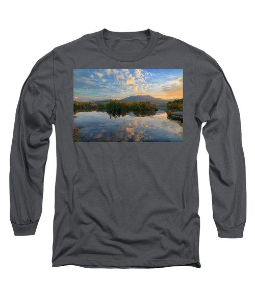 Sunrise Over Mt. Katahdin Long Sleeve T-Shirt