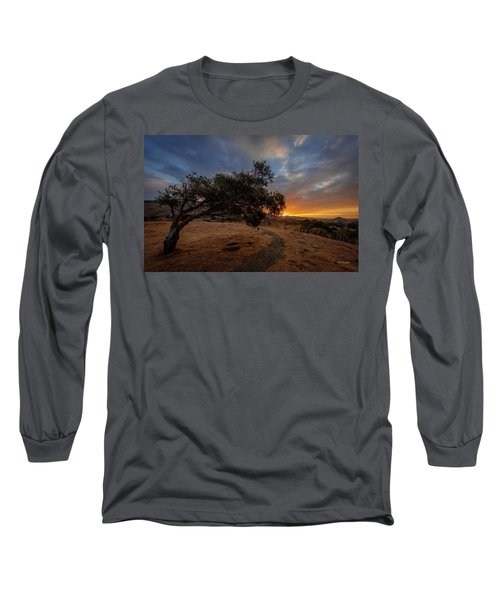 Sunrise Over San Luis Obispo Long Sleeve T-Shirt