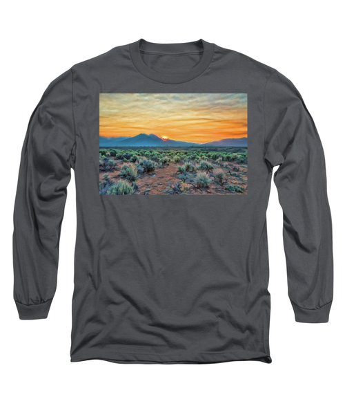 Sunrise Over Taos Long Sleeve T-Shirt