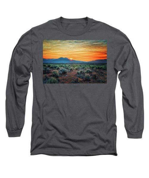 Sunrise Over Taos II Long Sleeve T-Shirt