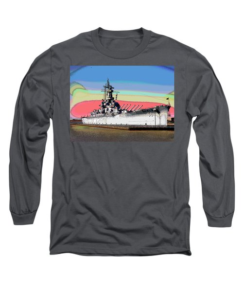 Sunrise Over The Alabama Long Sleeve T-Shirt by Charles Shoup