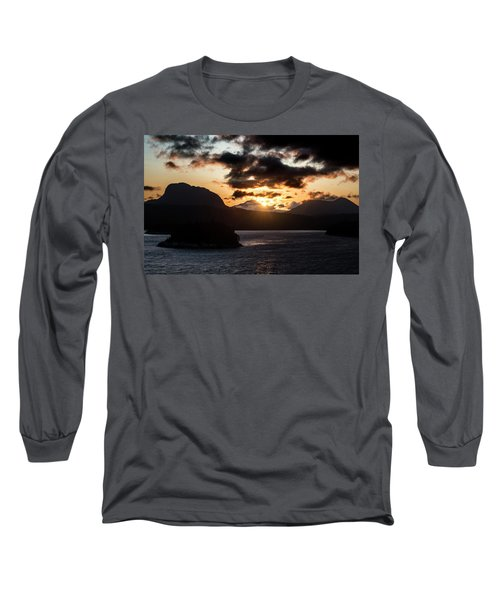 Sunrise Over The Inland Passage Long Sleeve T-Shirt