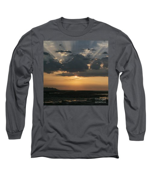 Sunrise Over The Isle Of Wight Long Sleeve T-Shirt