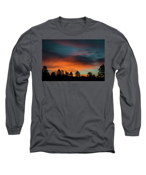 Sunrise Over The Southern San Juans Long Sleeve T-Shirt by Jason Coward